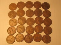 ROLL 1928 D LINCOLN WHEAT CENTS PENNY IN GOOD OR BETTER CONDITION 50 COINS
