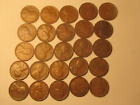 ROLL 1934 D LINCOLN WHEAT CENTS PENNY IN GOOD OR BETTER CONDITION 50 COINS