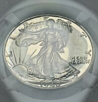 1940 CAC-CERTIFIED PROOF WALKING LIBERTY HALF DOLLAR NGC PF67 50C