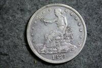 ESTATE FIND 1878   SEATED LIBERTY SILVER TRADE DOLLAR   J120
