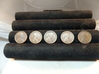 LOT 5  LINCOLN CENT 1909 VDB,1910-S,1911-S,1912-S,1914S  C 1568