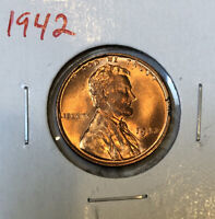 1942 LINCOLN CENT.  UNCIRCULATED
