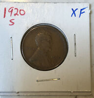 1920-S LINCOLN CENT.