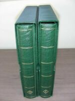 US AMAZING STAMP COLLECTION IN A 2 VOLUME LIGHTHOUSE HINGELE