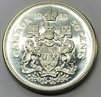 1959 CANADA 50 CENT HALF DOLLAR SILVER PROOF COIN  G232