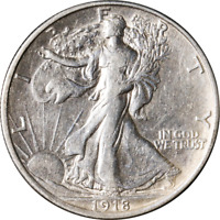 1918-P WALKING LIBERTY HALF GREAT DEALS FROM THE EXECUTIVE COIN COMPANY