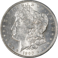 1890-S MORGAN SILVER DOLLAR GREAT DEALS FROM THE EXECUTIVE COIN COMPANY