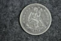 ESTATE FIND 1840   LIBERTY SEATED QUARTER    J11108