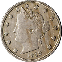 1912-D LIBERTY V NICKEL GREAT DEALS FROM THE EXECUTIVE COIN COMPANY