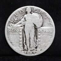 1927-D STANDING LIBERTY QUARTER - GOOD 31270