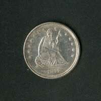 US COIN 1877 SEATED LIBERTY QUARTER