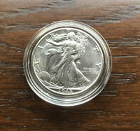 1945-D SILVER WALKING LIBERTY HALF DOLLAR IN  CHOICE BU CONDITION