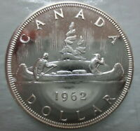 1962 CANADA VOYAGEUR SILVER DOLLAR PROOF LIKE COIN