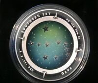 2013 AUSTRALIA SOUTHERN SKY PAVO 1OZ SILVER PROOF COLORED DO