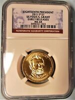 2011 P NGC MINT STATE 68 ULYSSES S. GRANT DOLLAR EARLY RELEASES