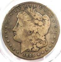 1895-S MORGAN SILVER DOLLAR $1 - PCGS G6  GOOD -  DATE CERTIFIED COIN