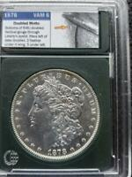 1878 8TF VAM 6  DOUBLED MOTTO  MORGAN SILVER DOLLAR SHIPS FREE