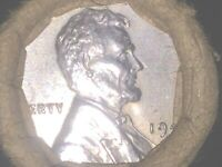 1943 D STEEL LINCOLN CENT 50 PENNY ROLL / UNOPENED / UNCIRCU
