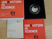 2020 UK 50P ROSALIND FRANKLIN SILVER PROOF COIN ONLY 3500 NU