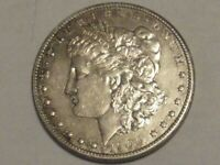 1900 RAINBOW TONED MORGAN SILVER DOLLAR 90 SILVER $1 COIN