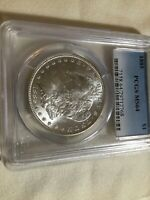 1885-P MORGAN DOLLAR PCGS 64. BEAUTIFUL GRADED COIN FOR YOUR COLLECTION.