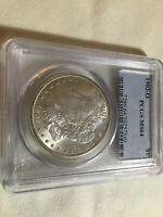 1902 O MORGAN SILVER DOLLAR MINT STATE 64. PCGS  GRADED. SLIGHT TONING.  COIN.