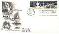 U.S. DECADE OF SPACE ACHIEVEMENTS FIRST DAY COVER 1971
