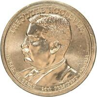 2013 P PRESIDENTIAL DOLLAR THEODORE ROOSEVELT BU CLAD US COIN