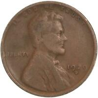 1929 D LINCOLN WHEAT CENT  GOOD PENNY VG