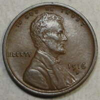 1916-D LINCOLN CENT, ALMOST UNCIRCULATED   0811-18