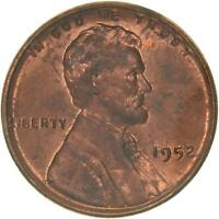 1952 LINCOLN WHEAT CENT UNCIRCULATED PENNY US COIN