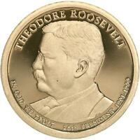 2013 S PRESIDENTIAL DOLLAR THEODORE ROOSEVELT GEM DEEP CAMEO PROOF