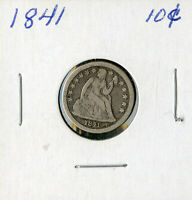 US COIN 1841 SEATED LIBERTY COIN