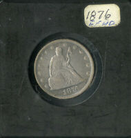 US COIN 1876 SEATED LIBERTY TWNETY CENT PIECE