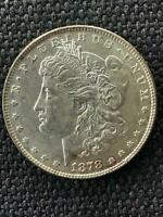 1878 7TF REVERSE OF 1878 LONG NOCK MORGAN SILVER DOLLAR SHIPS FREE