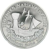 2009 S TERRITORIES QUARTER NORTHERN MARIANA ISLANDS GEM PROOF DCAM 90 SILVER