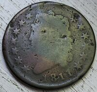 1811 CLASSIC HEAD LARGE CENT AG COIN