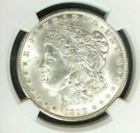 1899-O MORGAN SILVER DOLLAR - NGC MINT STATE 63  BEAUTIFUL COIN  REF73-017