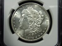 1878-S MORGAN SILVER DOLLAR NGC MINT STATE 63 002