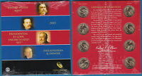 US 2012 PRESIDENTIAL $1 8 COIN UNCIRCULATED SET MINT SEALED UNC - US-SELLER