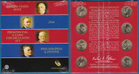 US 2014 PRESIDENTIAL $1 8 COIN UNCIRCULATED SET MINT SEALED UNC - US-SELLER