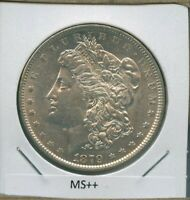 1879 P MORGAN DOLLAR $1 US MINT  DATE SILVER COIN 1879-P MS