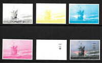 MAYFLOWER 400TH ANNIVERSARY LIMITED EDITION COLOR PROOFS SINGLES SET SOLD OUT