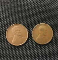 1910 & 1910 S SAN FRANCISCO LINCOLN WHEAT CENTS SHIPS FREE