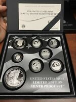 2016 UNITED STATES MINT LIMITED EDITION SILVER PROOF SET WIT