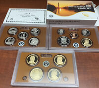 COMPLETE 14 COIN 2013 UNITED STATES CLAD MINT PROOF SET WITH