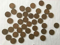 LOT OF 41 CANADIAN PENNIES. 1932 TO 1954.