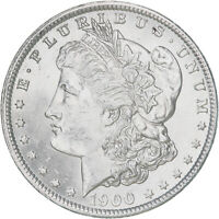 1900 MORGAN SILVER DOLLAR BU US MINT COIN
