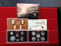 2014 S SILVER 14 COIN PROOF SET ORIGINAL