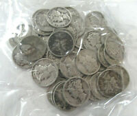 US $5.00 FACE SILVER MERCURY DIMES   FIFTY  50  COINS TOTAL